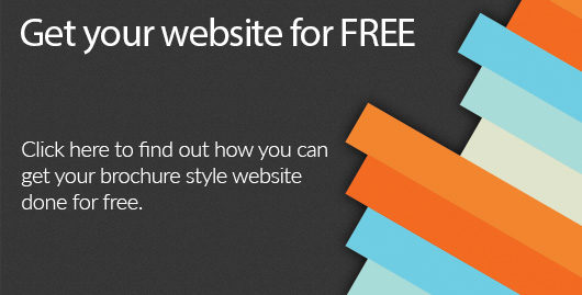 Free brochure style websites