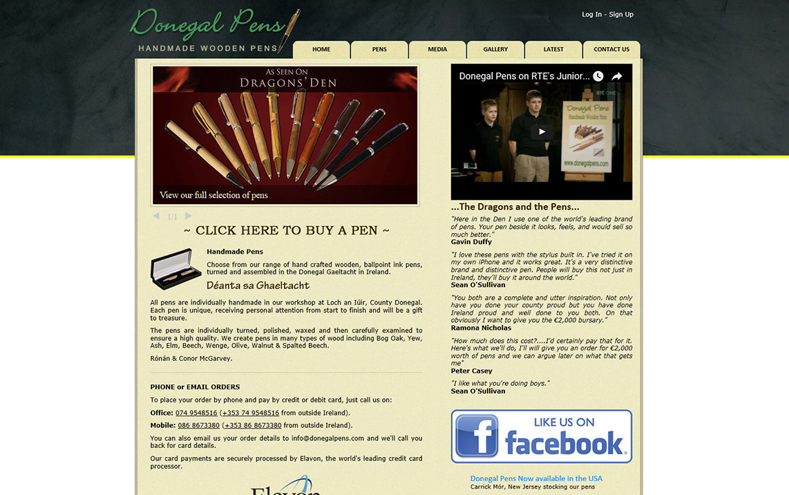 Donegal Pens